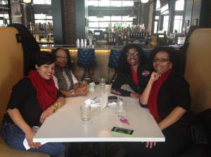 Me and a few of the Soul Sisters at Punch Bowl Soul in February.