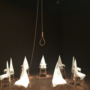 "Gary Simmons's ""Duck, Duck, Noose"" (1992) at 30 Americans"